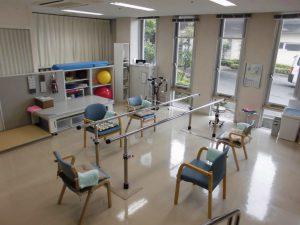 広々した運動ルームで作業療法士(OT)とともに目的に合った運動を実施します。